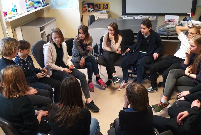 Murepilved soome keele õppe kohal