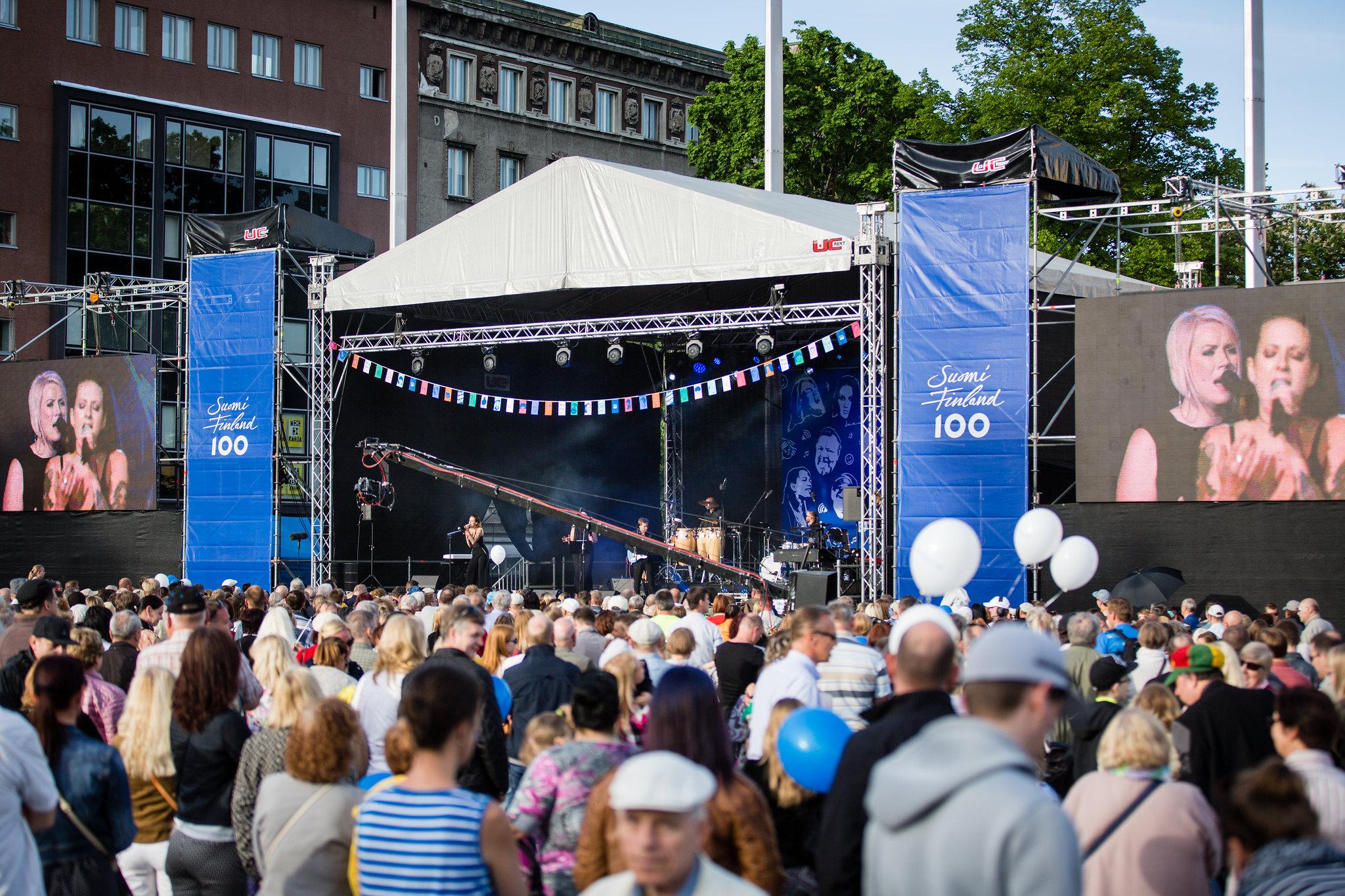 Soome juubeliaasta peasündmust Eestis toetasid paljud ettevõtted