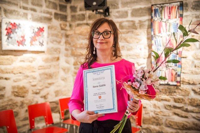 Aasta 2017 soome keele õpetaja on Ilona Säälik