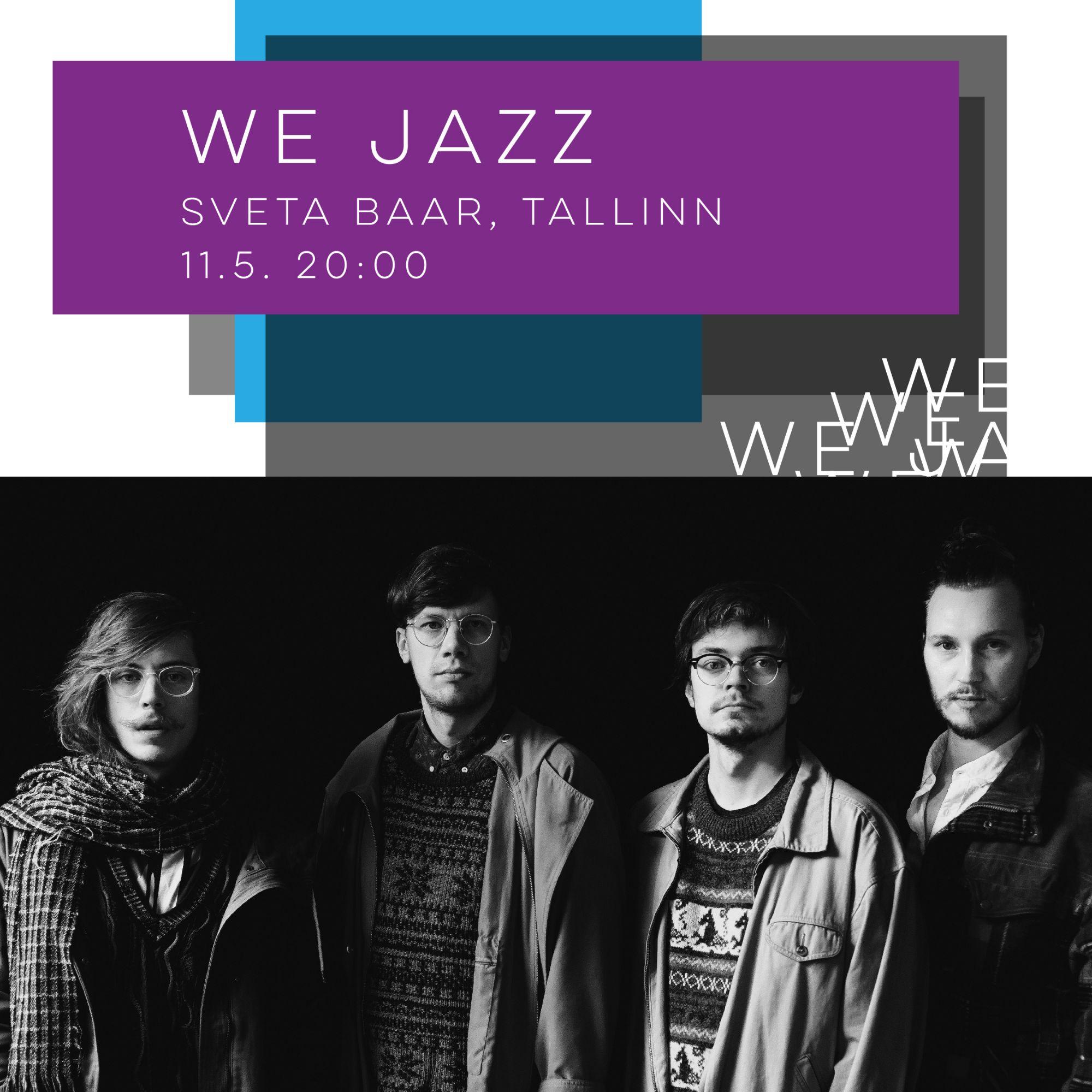 We Jazz tuo innovatiiviset suomalaisartistit Tallinnaan
