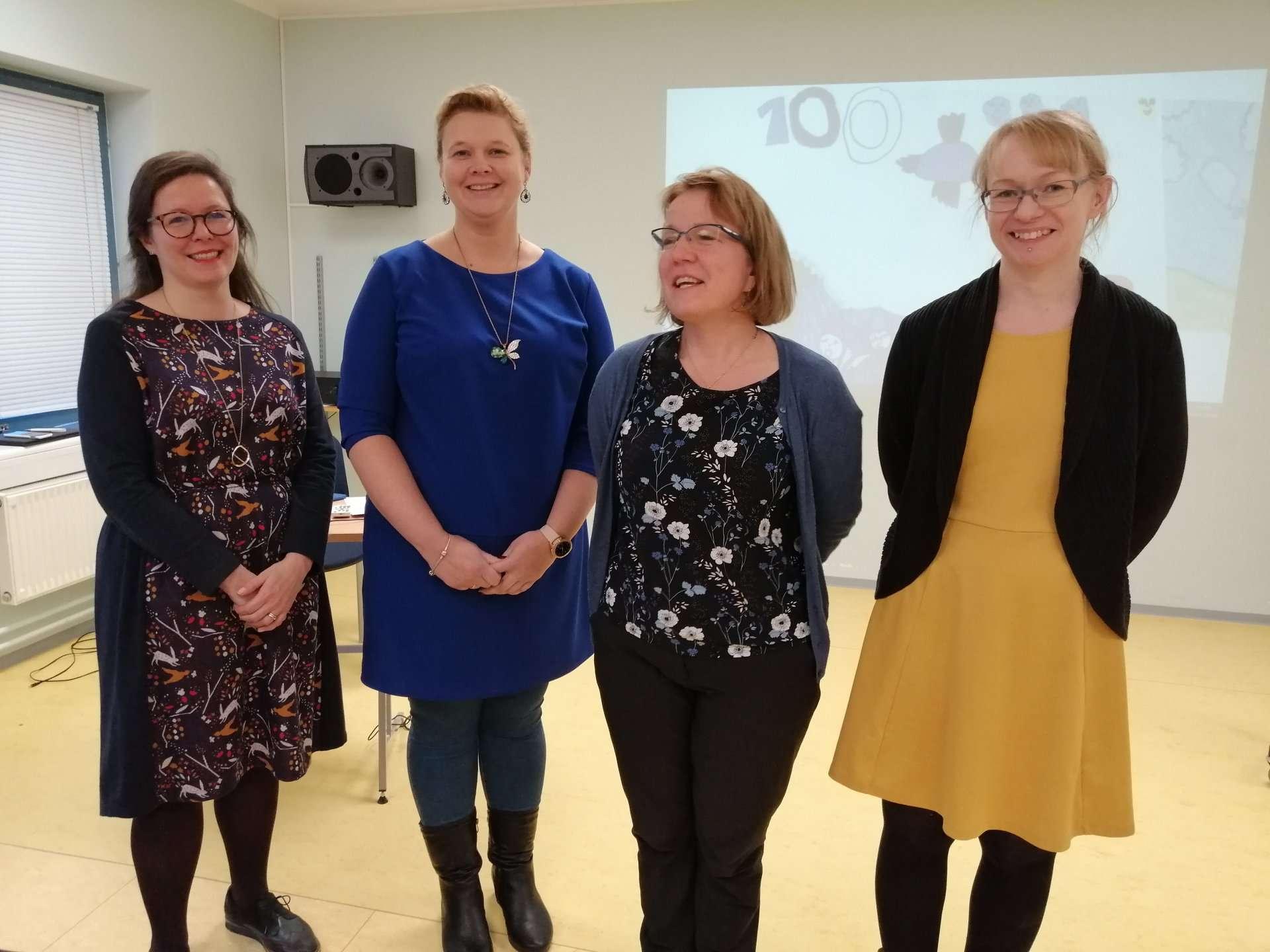 Kielenopetuksen yhteisprojekti SuVi julkistettiin