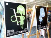Nykypäivän suomalainen juliste -näyttely Tallinnan aikuislukiossa
