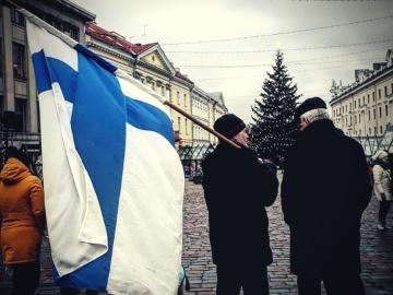 Soome sai 102: Tartu tantsis jenkat ja peeti kõnesid
