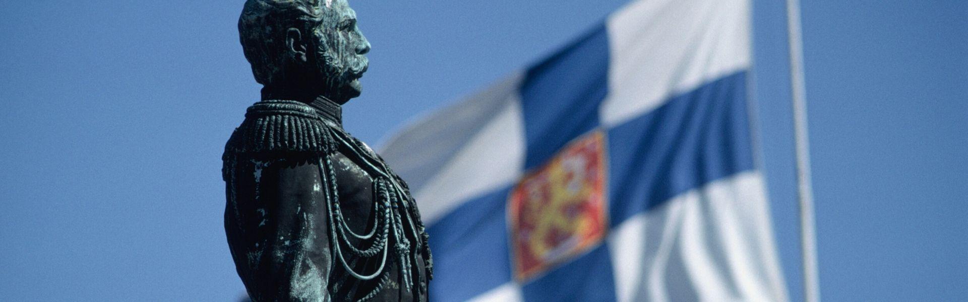 Soome riigilipp ja riigimees