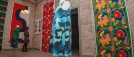 Marimekko -näyttely Keilan sosiaalikeskuksessa