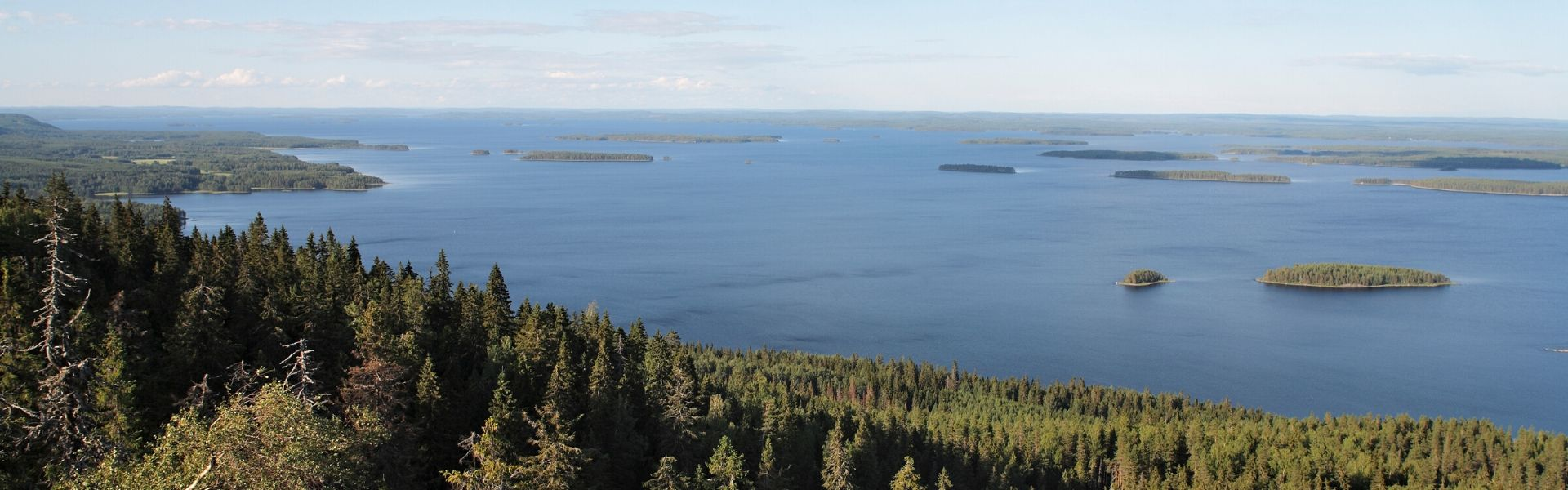soome loodus, saarestik, järved
