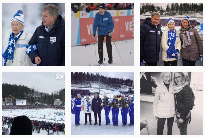 Soome suusakuninganna Siiri Rantanen Lahti MMil 2017. aasta märtsis