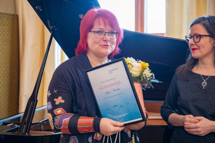 Tunnustati hõimurahva keele õpetajaid