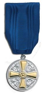 medal sinise paela otsas