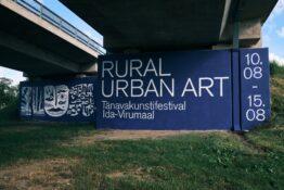 Kunstnik Laura Lehtinen festivalil Rural Urban Art