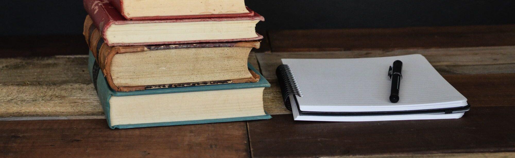 virn raamatuid, lahtine märkmik
