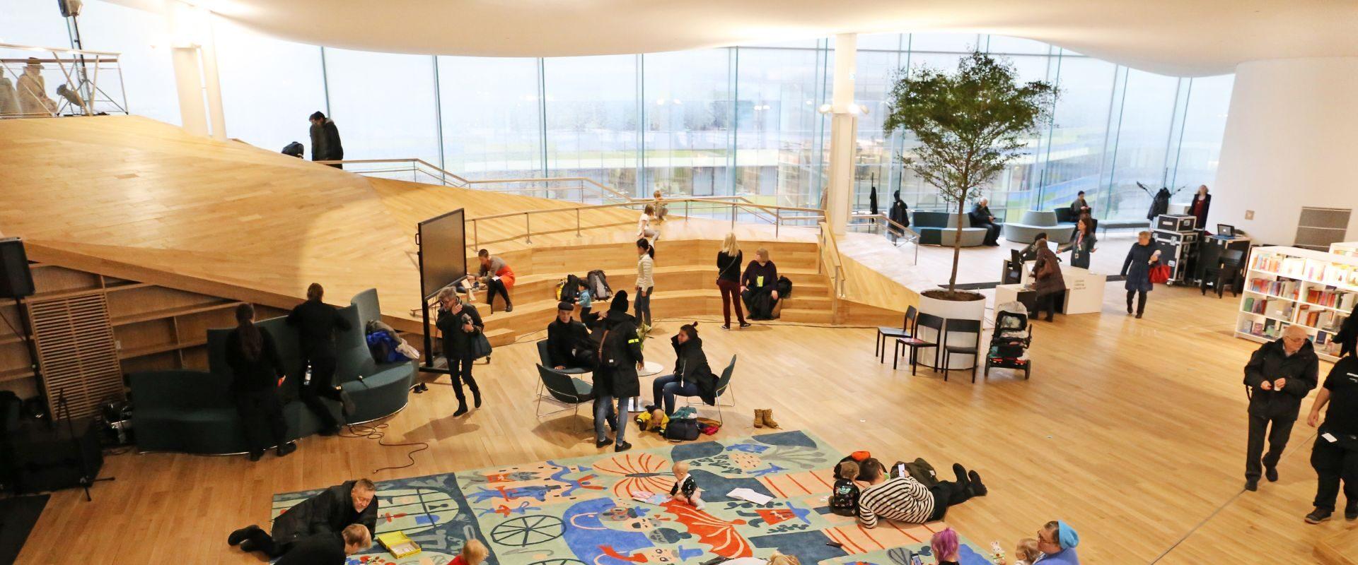 raamatukogu Oodi Helsinki