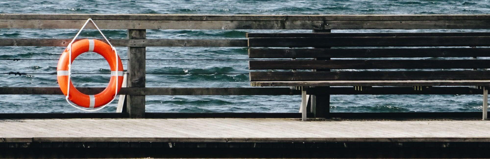 päästerõngas, meri
