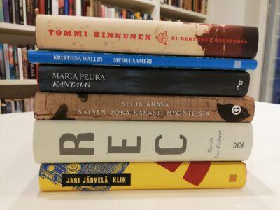 Runebergi auhinna laureaat ja nominendid Soome Instituudi raamatukogus