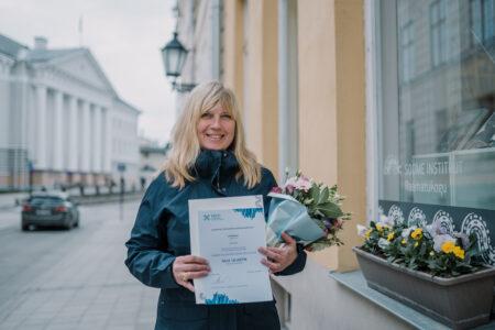 2020. aasta soome keele õpetaja on Sille Lillestik