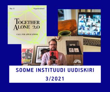 Soome Instituudi uudiskiri 3/2021 keskendub keelele ja kirjandusele